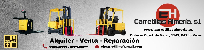 E. H. Carretillas Almeria. Venta alquiler y reparacion.